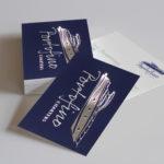 3D Foil Metallic Business Cards