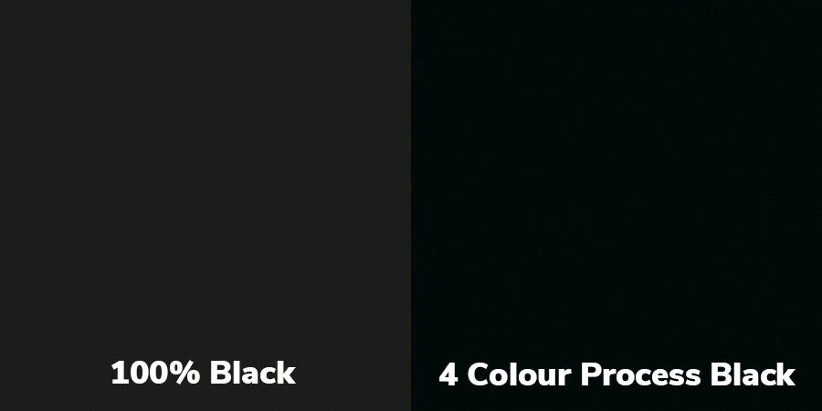 WHEN IS BLACK NOT BLACK?
