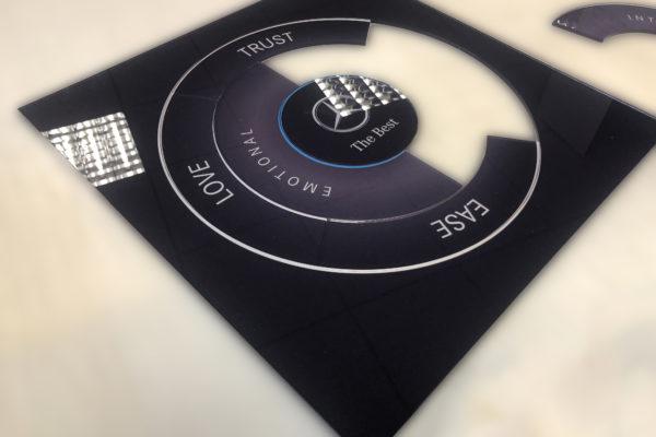 Printed Laser Cut Acrylic Jigsaw