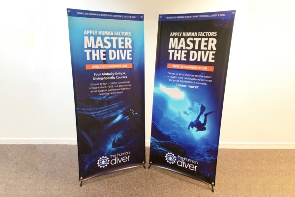 Lightweight Tension Banners