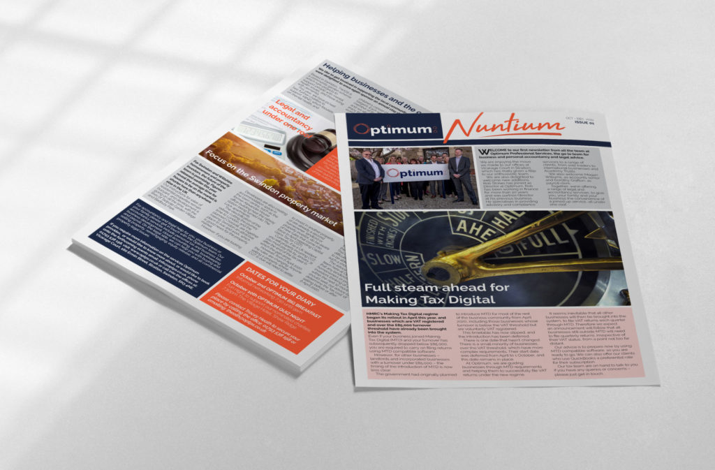 Newsletter Design and Print