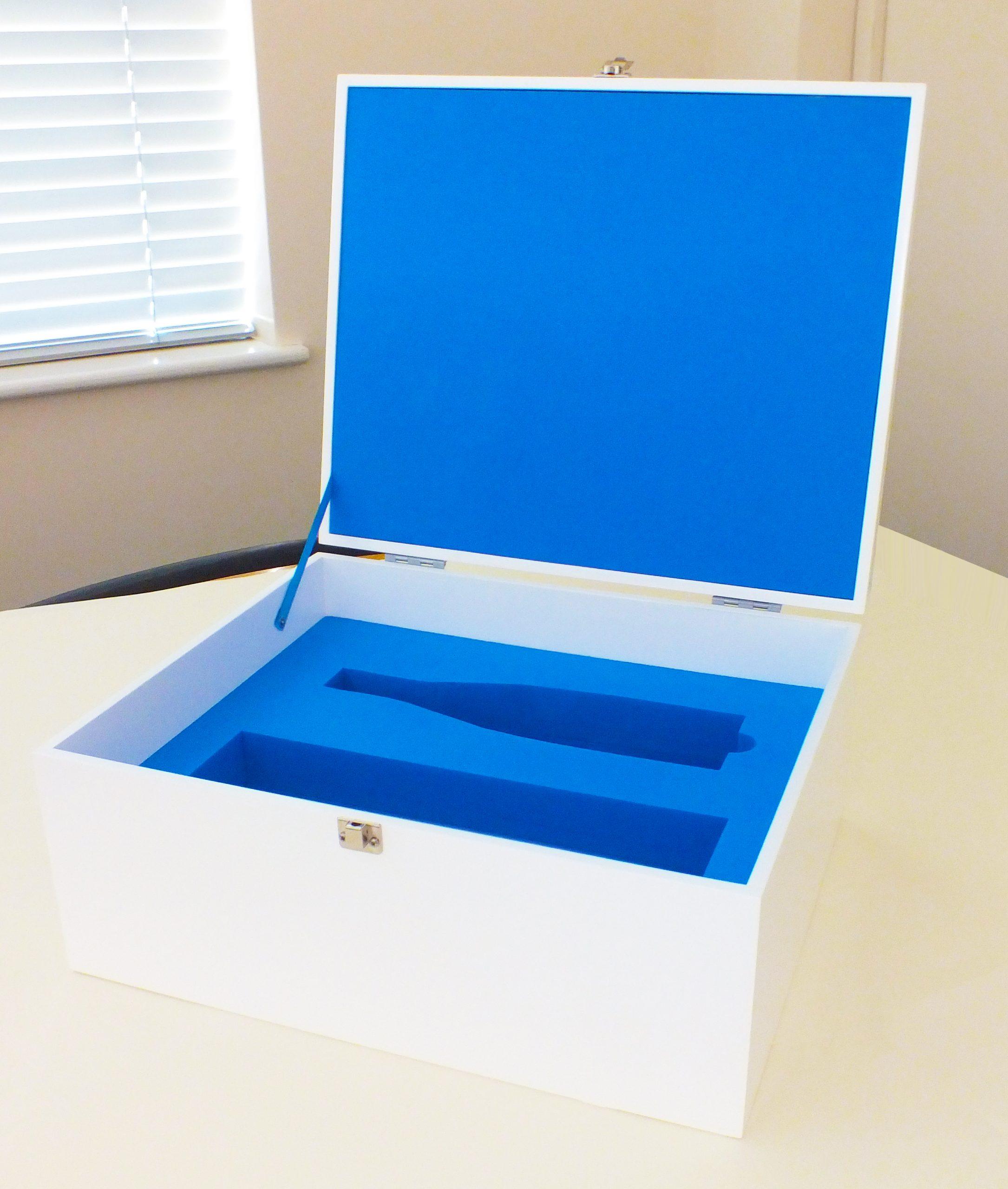 Bespoke Presentation Box Layered Foam Inserts