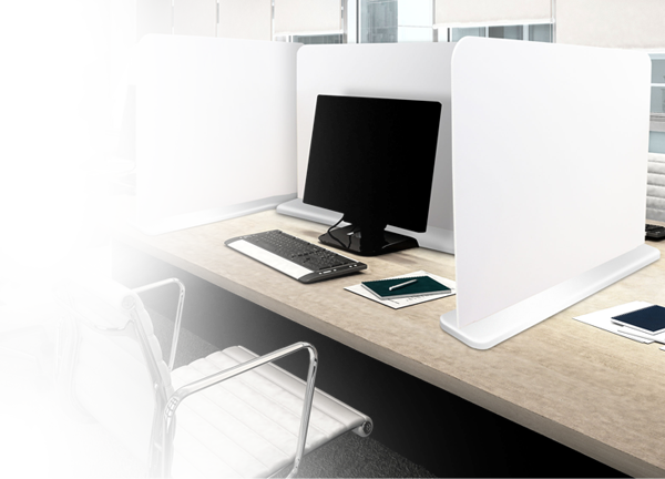 Free Standing Desk Dividers