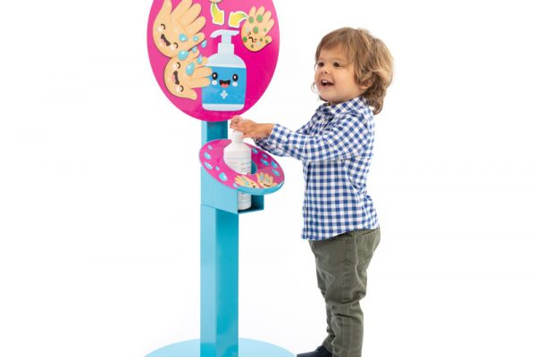 KIDS MULTI-HEIGHT SANITISING UNIT